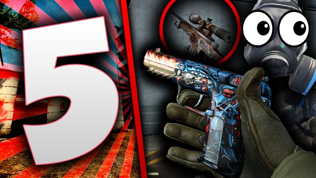 5 SEKRETÓW UKRYTYCH W SKINACH W CS:GO !!