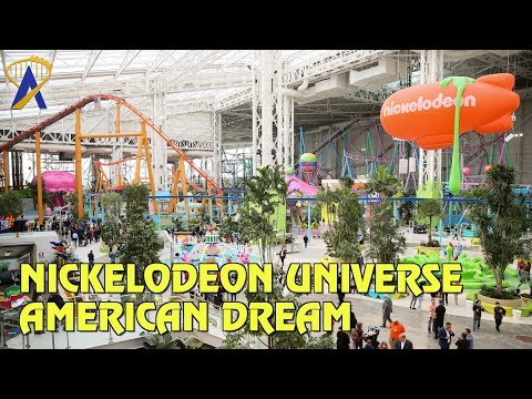 Nickelodeon Universe Overview - American Dream in New Jersey