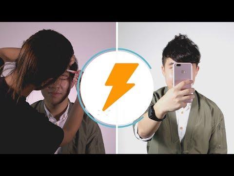Shoot with Mi (Xiaomi A1): Beauty Cam vs. Real Makeup: