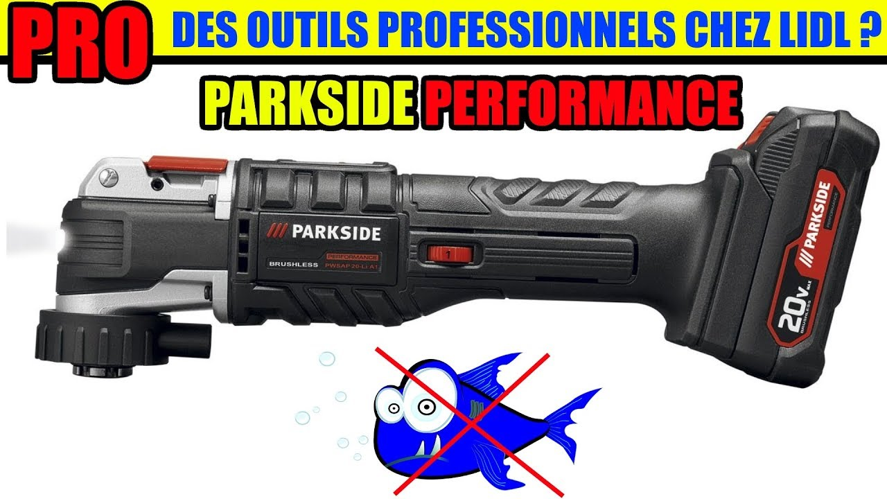 parkside performance des outils pro chez lidl outil multifonction pamfwp 20 li a1 youtube. Black Bedroom Furniture Sets. Home Design Ideas