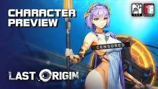 Last Origin (+18) - Character Preview - Censorship Comparison - Mobile - F2P - KR