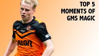 Top 5 Moments of Gary Mackay-Steven Magic