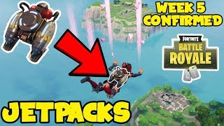*NEW* Fortnite: Jetpacks CONFIRMED COMING! - Week 5 NEW LTM MODE & JETPACK LEAKED -
