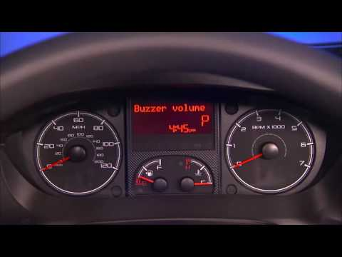 Instrument Cluster Display-Digital Dashboard On The Car Instrument Panel Of 2017 Ram ProMaster
