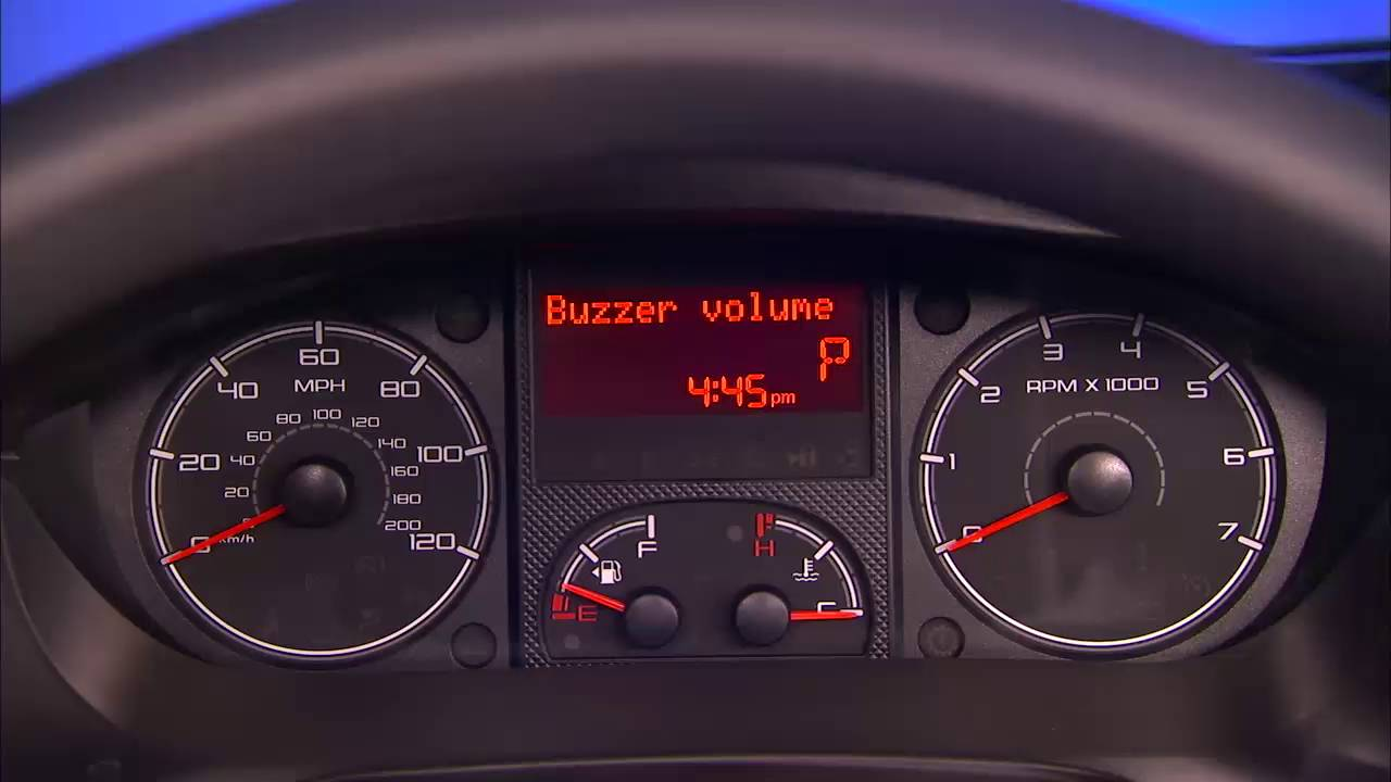 how to reset the digital odometer of a car