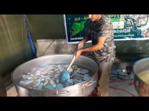 DAY 5 DAILY IFTAR MEALS IN SYRIA RAMADAN 2016