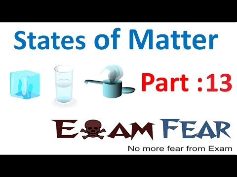 Chemistry States of Matter part 13 (Kinetic theory of gas) CBSE class 11 XI