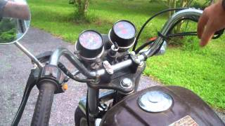 How to jump start, bump start a motorcycle