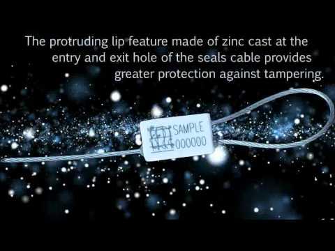 The Mini Cable Lock Premium Security Seal