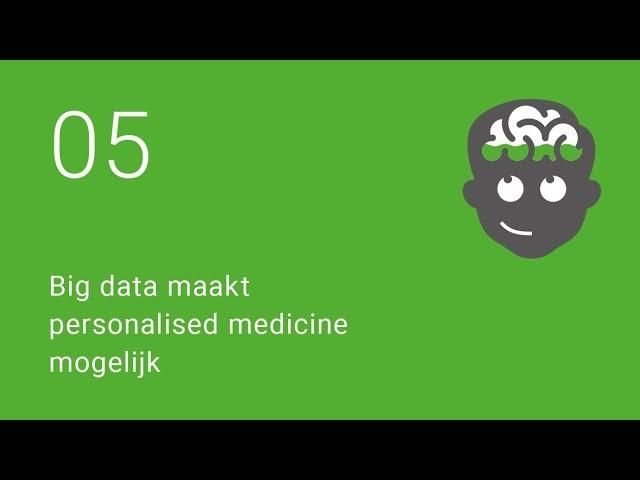 Big data maakt personalised medicine mogelijk
