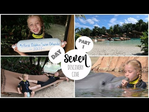 Fourth Famiy Floriday - Day 7  (part 1)  DISCOVERY COVE