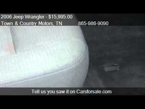 2006 Jeep Wrangler Sport - for sale in Lenoir City, TN 37771