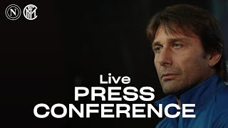 NAPOLI vs INTER | LIVE | ANTONIO CONTE PRE-MATCH PRESS CONFERENCE | 🎙️⚫🔵 [SUB ENG]