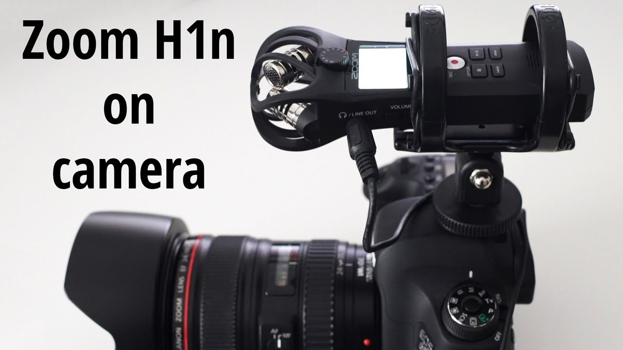 Connect Zoom H1n To Camera And Use It As A