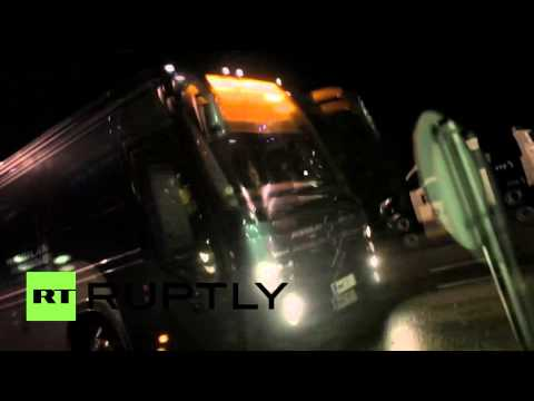 Finland: Refugee bus attacked while entering Lahti reception centre