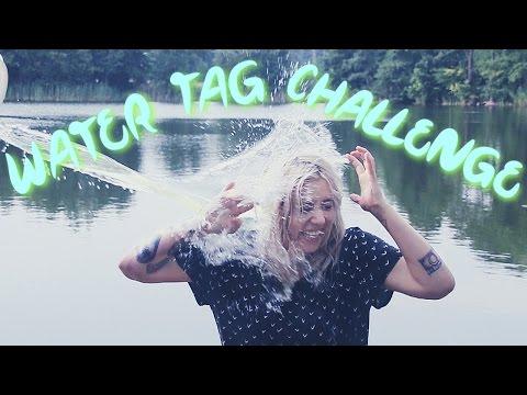 Water Tag Challenge - lodowata woda!