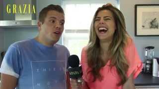 Kim Kotter en Evelien de Bruijn doen de #GraziaFoodChallenge