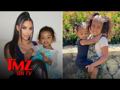 Kim Kardashian's Kid's Are Wild & Cute! | TMZ TV