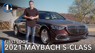2021 Mercedes-Maybach S-Class: First Look (Up-Close Details)