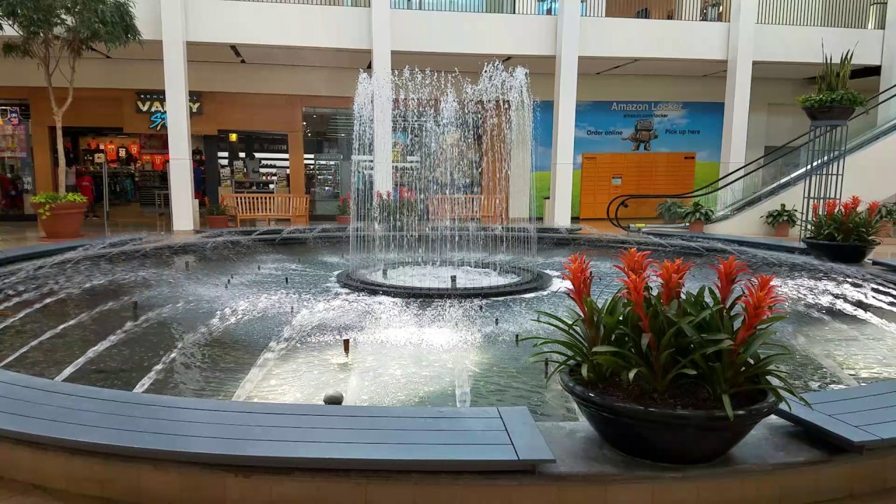 Plymouth Meeting Mall Water Fountain 60fps Video Test
