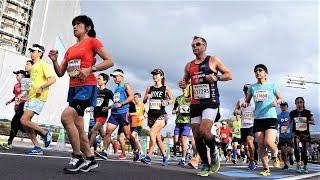 横浜マラソン2018.10.28 のようす