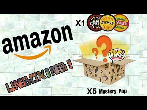 Amazon 6 Funko Pop Mystery Box W/chase!