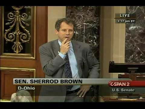 Sen. Sherrod Brown: When Republicans Have Nothing To Say, They Invoke ACORN