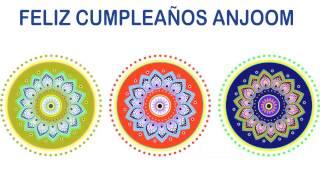 Anjoom   Indian Designs - Happy Birthday
