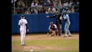 BO JACKSON VS INDIANS - HOME RUN - MAY 5, 1987.