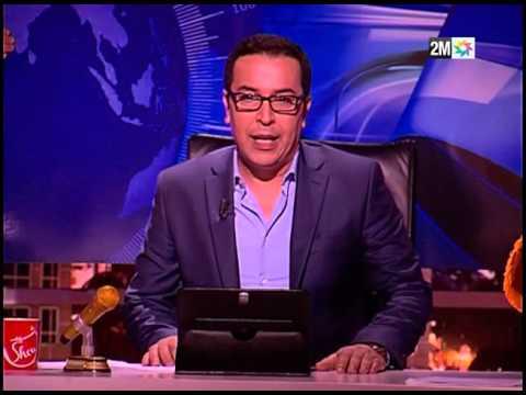 Rachid Show - الصحفي صلاح الدين الغماري يقدم الأخبار باللغة الروسية