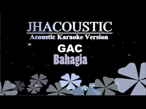 Gamaliel Audrey Cantika - Bahagia (Acoustic Karaoke Version)