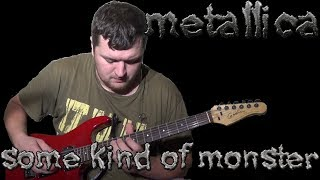 Some Kind Of Monster (Metallica Guitar & Bass cover) with James Hetfield vocals