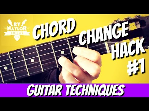 Radically Improve Your Guitar Chord Changing Technique With This