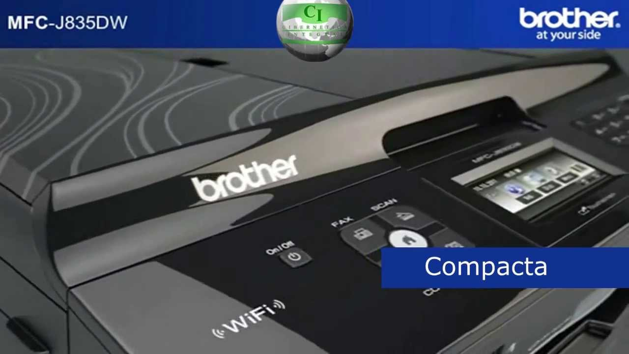Brother MFC-J835DW Printer Drivers for Windows XP
