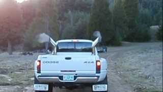 2002 CUMMINS 24V START UP AND DRIVE WITH 6'' STACKS