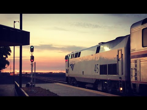 The Amtrak EMPIRE BUILDER - three days crossing Big Sky Country!