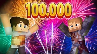 Zostałem prawdziwym YouTuberem - 100 000 Subów  Minecraft Strumykowo E6