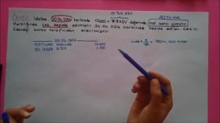 5) 101 ALINAN ÇEKLER ve 103 VERİLEN ÇEKLER VE ÖDEME EMİRLERİ (-)