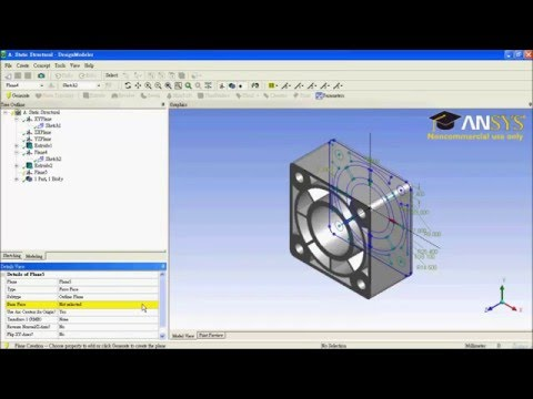ANSYS Workbench Tutorial - COVER OF PRESSURE CYLINDER