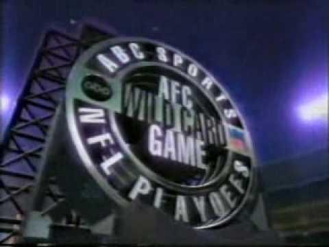 ABC Pro Football Playoff Intro - December 1994