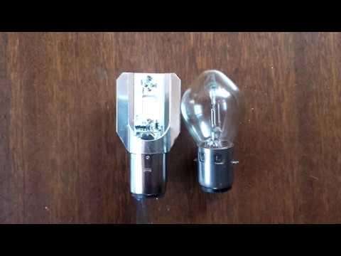 LED лампа для мотоцикла