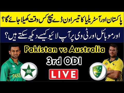 pakistan-vs-australia-3rd-odi-2019-|-live-streaming-tv-channel-&-timing