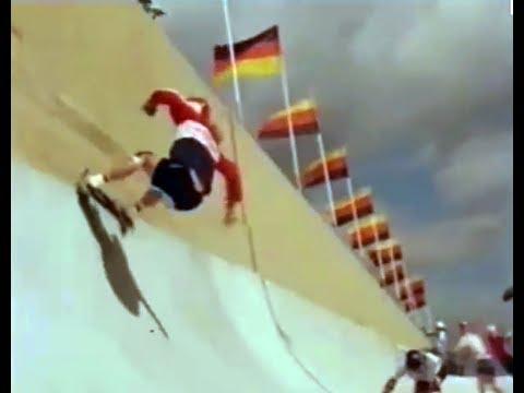Skatopia, Buena Park, California, built 1977. Skateboard Kings (BBC, 1978). Soundtrack part removed.