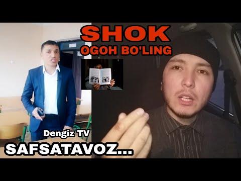Dengiz TV - Yolg'on Va Safsata. Bir Blogger Oilasiga Og'ir Tuhmat!