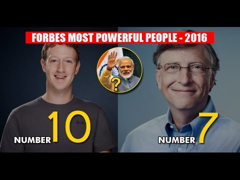 Modi Has Made Way To Forbes List Of 74 Most Powerful People! You'll Be Happy To See His Rank!