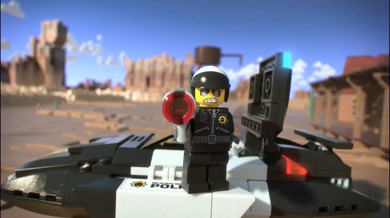 lego movie 70802 bad cops pursuit lego 3d review
