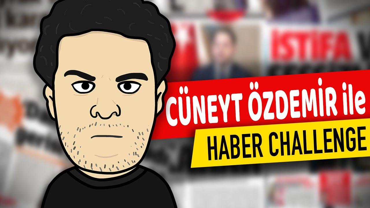 Cüneyt Özdemir ile Haber Challenge | Özcan Show