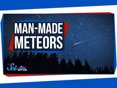 How to Make a Meteor Shower