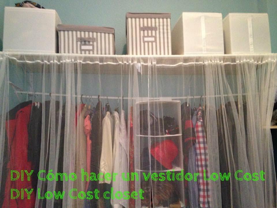 DIY Cómo hacer un vestidor Low Cost - DIY Low Cost closet - YouTube