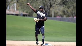 1st look at Yankees' Didi Gregorius making throws